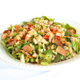 Spicy Peanut Chopped Salad