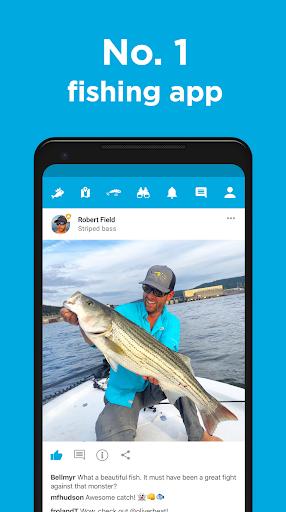 Fishbrain - local fishing map and forecast app screenshot
