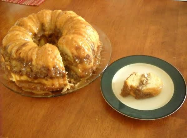Apple Streusel Cake With Caramel Recipe