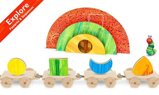 Hungry Caterpillar Shapes and Colors 3