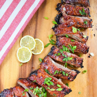 Sticky Sweet And Sour Pork Baby Back Ribs.