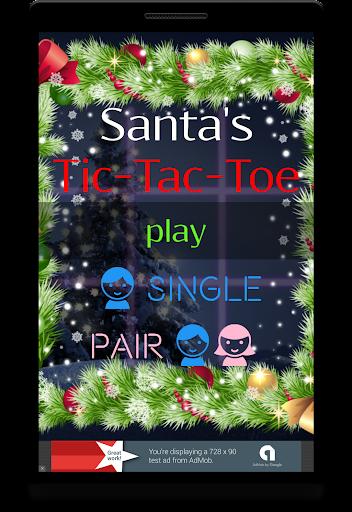 Christmas Tic Tac Toe