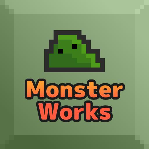MonsterWorks ダンジョンかたづけパズルゲーム (game)