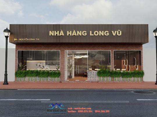 thiết kế nhà hàng long vũ 1