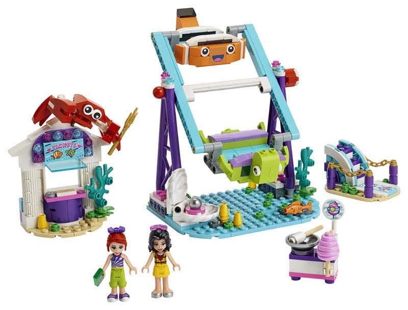 Contenido de Lego® 41337 Noria Submarina