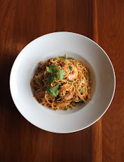 BBQ Shrimp Pasta