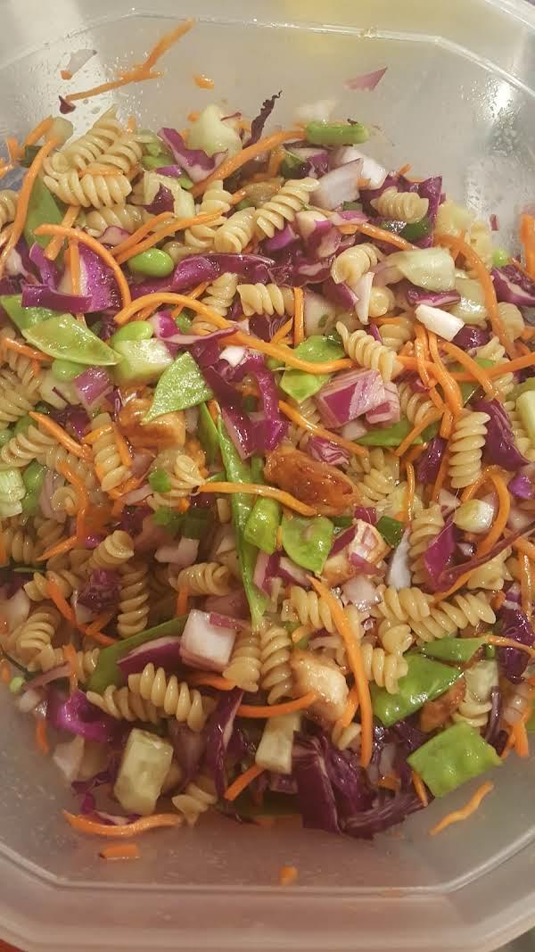 Oriental Chicken Pasta Salad_image
