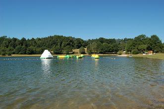 Photo: Aqua-park - Rénac Plage(Lac de Saint Etienne Cantalès 600 ha)