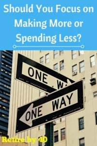 Should You Focus on Making More or Spending Less? thumbnail