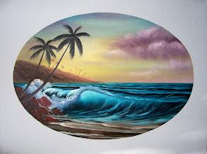 "Photo: 2709 Island Paradise. Oil on canvas. Frame: no. Price: 18"" x 24"" $349.00"