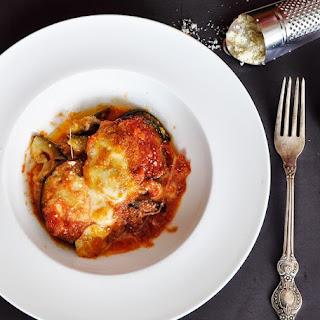 Eggplant Parmesan (Melanzane alla Parmigiana).