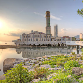 Penang Floating Mosque 01 by Danny Tan - Buildings & Architecture Places of Worship