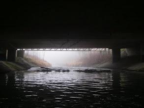 Photo: Podmostowe niespodzianki