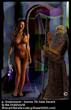 """Photo: """"Why does Inanna go down into Hell? Neither the Sumerian nor the Akkadian versions of Inanna's Descent to the Underworld tells us why she goes there."""""""