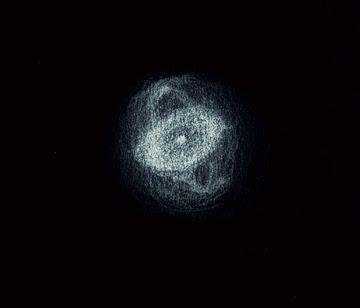 Photo: NGC 4361 dans le Corbeau. 220X de Gr, avec filtre OIII. T406 depuis Ténérife (2100m) fin avril 2014.