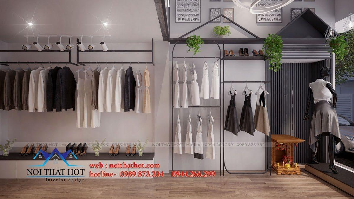 thiết kế shop thời trang nữ mitana 4