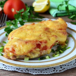 Chicken Breast with Tomatoes and Cheese Recipe