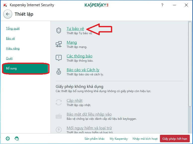 Dùng thử 90 ngày kaspersky vô hạn bằng Kaspersky Reset Trial