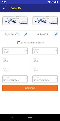 1800 Contacts - Lens Store 7.5.6 screenshots 3