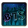 BTS Neon Keyboard APK icon