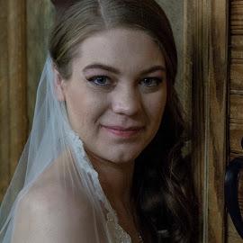 by Christopher Burson - Wedding Bride