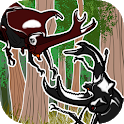 Play toy - Moving touch Insect icon