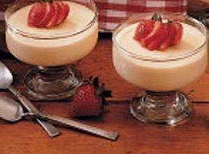Ice Cream Pudding Recipe