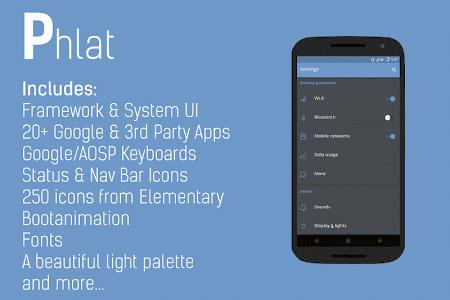 Phlat for CM12 v1.5