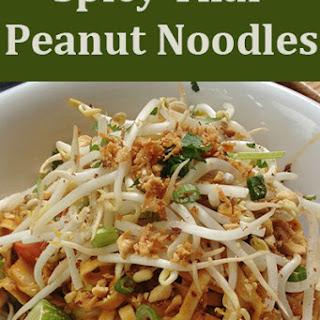 Thai Spicy Peanut Noodle