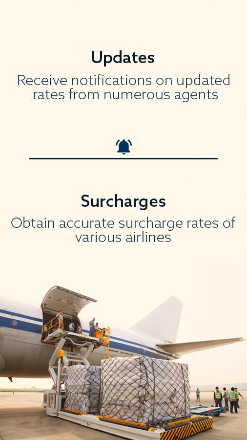 Air Cargo Rates App- screenshot