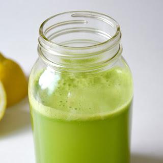 Cucumber and Celery Green Juice Recipe