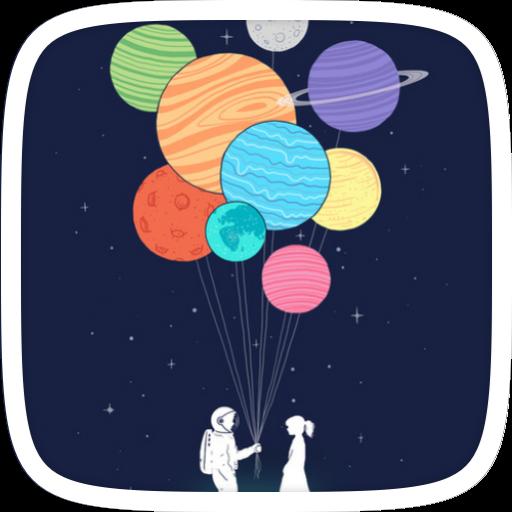 銀河BM主題 漫畫 App LOGO-硬是要APP