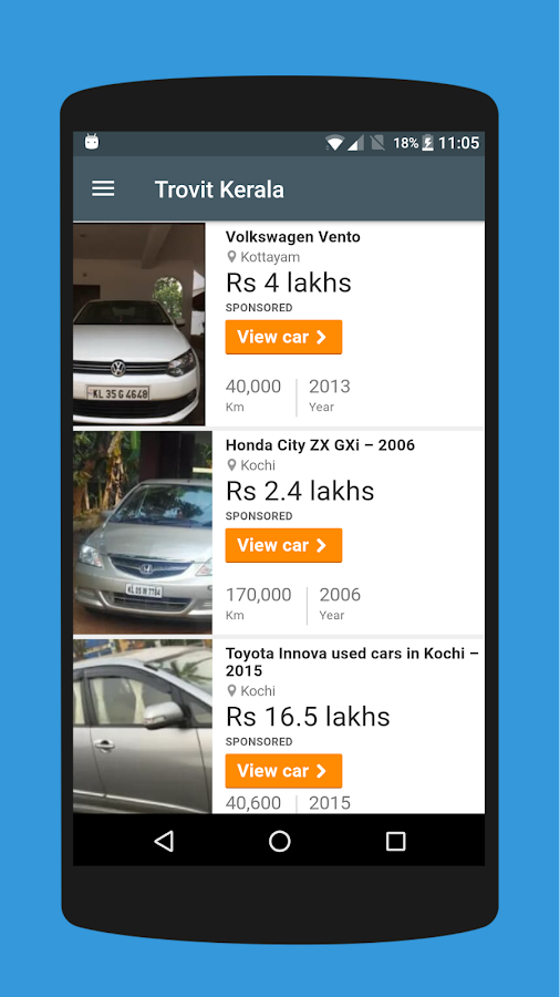 Used Cars In Kerala Android Apps On Google Play