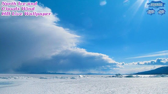 Wild North Icy Desert and Clouds Wind- screenshot thumbnail