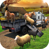 Transport Truck Farm Animal 3D