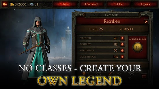 Arcane Quest Legends – Offline RPG Hack 1 1 8 (MOD,Unlimited Money