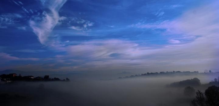 Mare di nebbia di linux20th