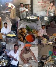 Photo: Deep Fry Collage of India and Sri Lanka Location of Foods Starting top left going clockwise Vavuniya Northern Sri Lanka Ooty, Tamil Nadu (Ootacamund) Pushkar Rajashstan Murud Maharashtra Dholavira Gujarat Veraval Gujarat Mumbai Maharashtra Matheran Maharashtra Center Photo Mumbai