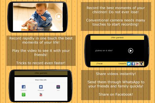 1 Tap Record - Video fast