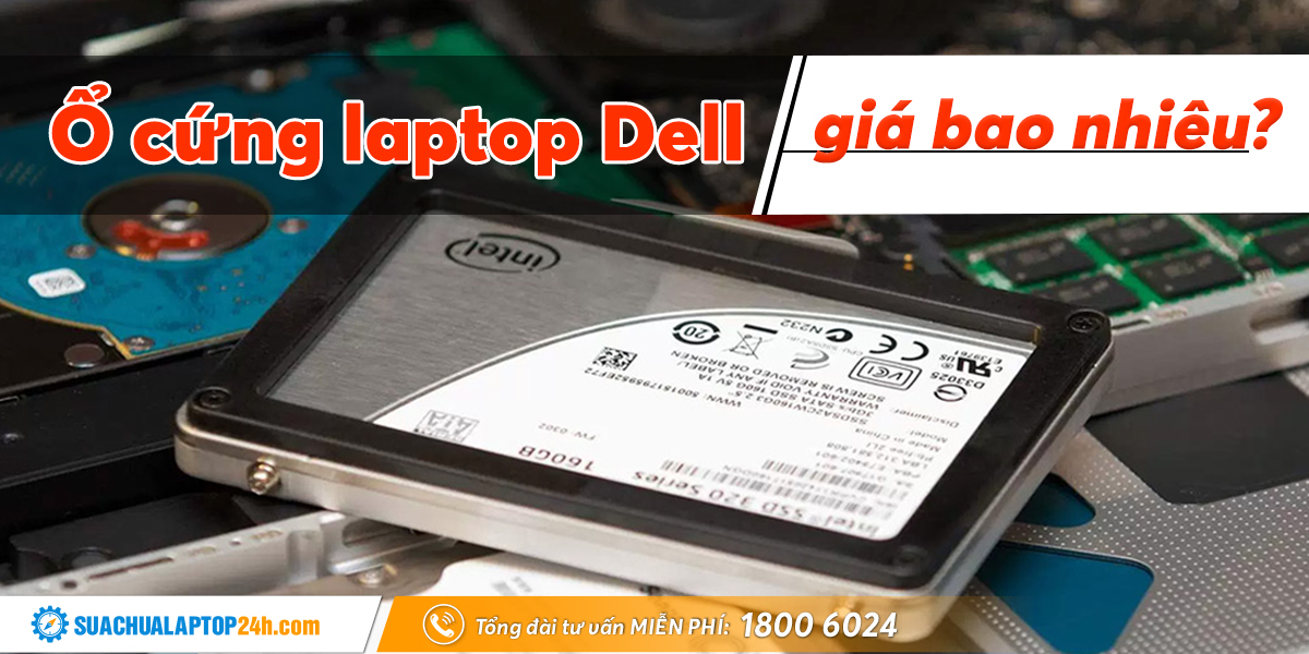thay ổ cứng laptop Dell
