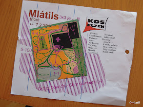 Photo: Mapa Mlátils tričet race