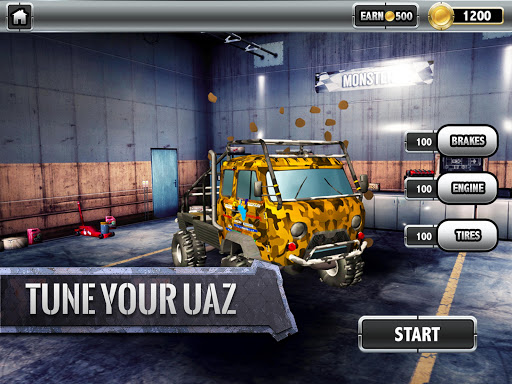 ud83dude97ud83cudfc1UAZ 4x4: Dirt Offroad Rally Racing Simulator android2mod screenshots 8