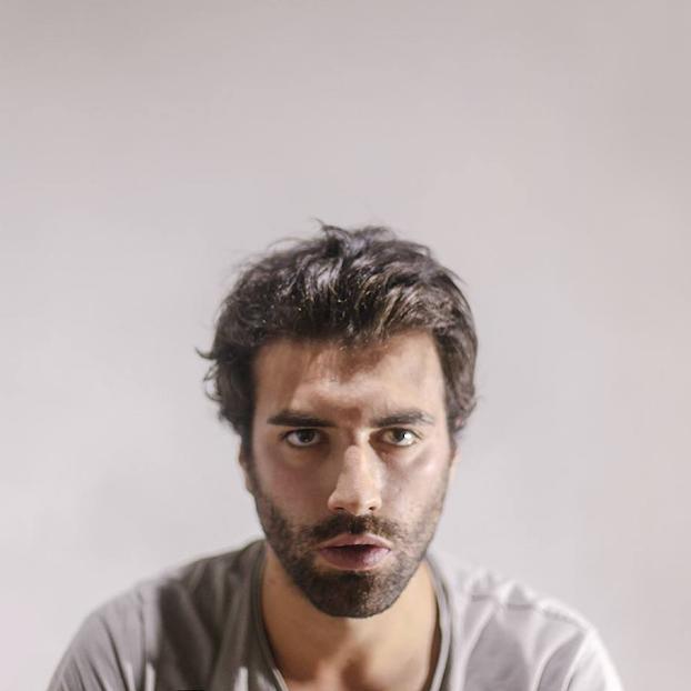 João Pedro Fonseca, artista plástico lamecense, na realização de ópera no CCB