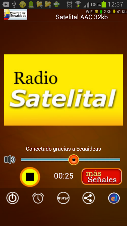 Radio Satelital 100.9 FM Loja- screenshot