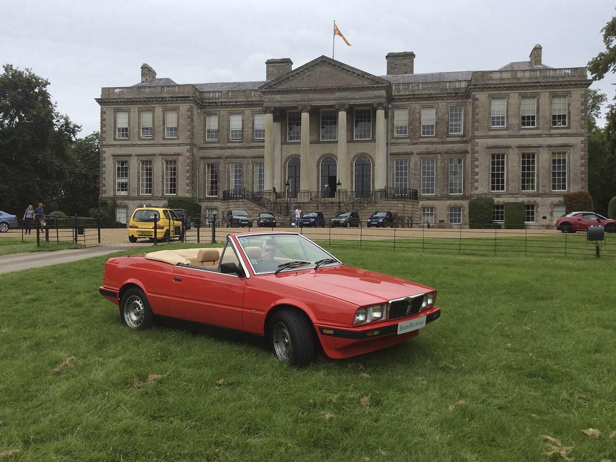 Maserati Biturbo Zagato Spyder Hire Leicester