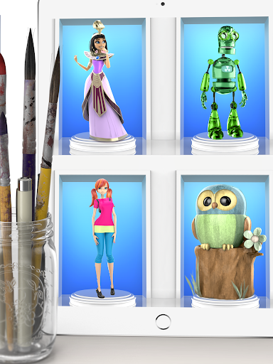 ColorMinis - Color & Create real 3D art  screenshots 3