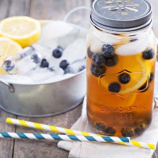 Blueberry Iced Tea.