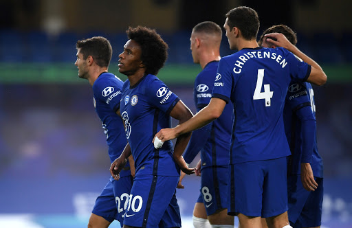 Chelsea win holds off rampant Man United in race for Premier League top four