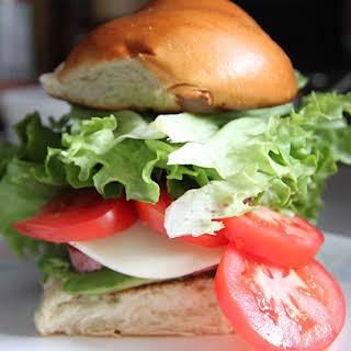 Nueske's DALT (Duck, Avocado, Lettuce, Tomato) Sandwich.