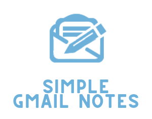 Logo for Simple Gmail Notes Plugin